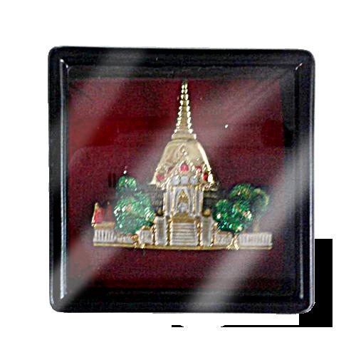 เข็มกลัดลายไทยลายพระปฐมเจดีย์หัวโขนเหมาะสำหรับเป็นของที่ระลึก ของฝาก และของชำร่วยในงานพิธีต่าง ๆ