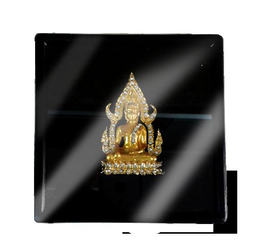 เข็มกลัดลายไทยลายพระพุทธรูปเหมาะสำหรับเป็นของที่ระลึก ของฝาก และของชำร่วยในงานพิธีต่าง ๆ