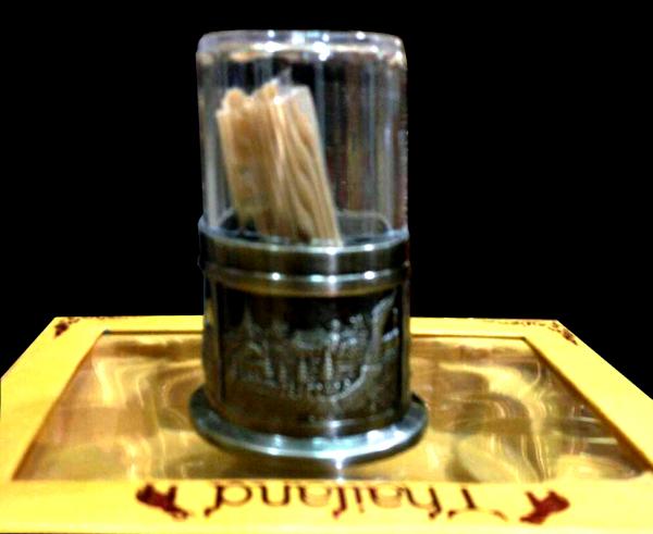 ของที่ระลึกกล่องไม้จิ้มฟันประดับลวดลายเหมาะเป็นของที่ระลึก ของชำร่วย และ ของฝาก