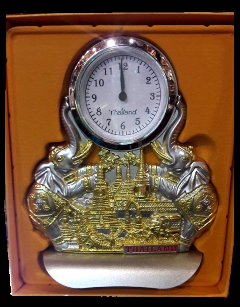 นาฬิกาช้างลายไทยเหมาะเป็นของฝาก ของที่ระลึก ของตกแต่งบ้าน