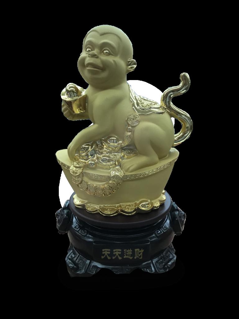 สินค้ามงคล1十二生肖 12 นักษัตร ลิง เหมาะที่จะเป็นของขวัญ ของชำร่วย ของที่ระลึกและของตกแต่งบ้าน