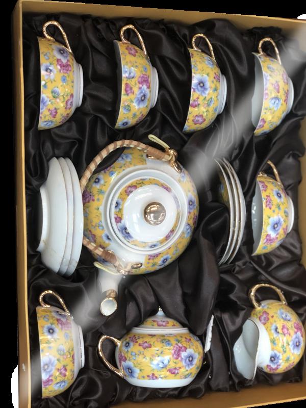ชุดน้ำชาเซรามิคจากประเทศจีน 12
