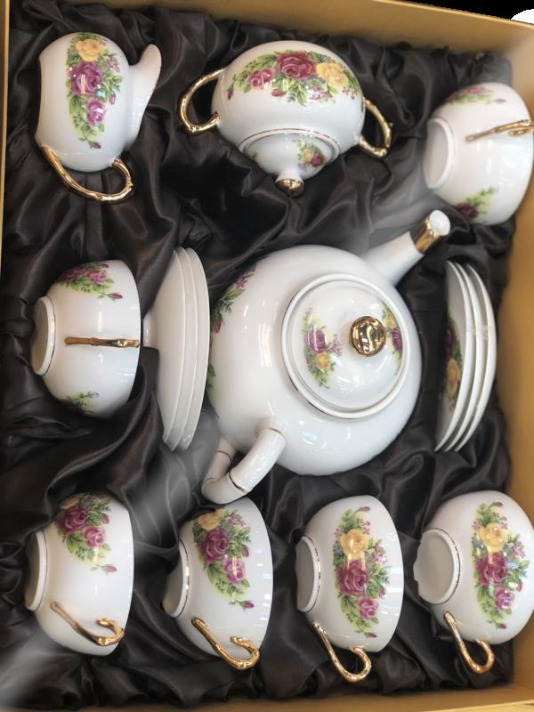 ชุดน้ำชาเซรามิคจากประเทศจีน 15