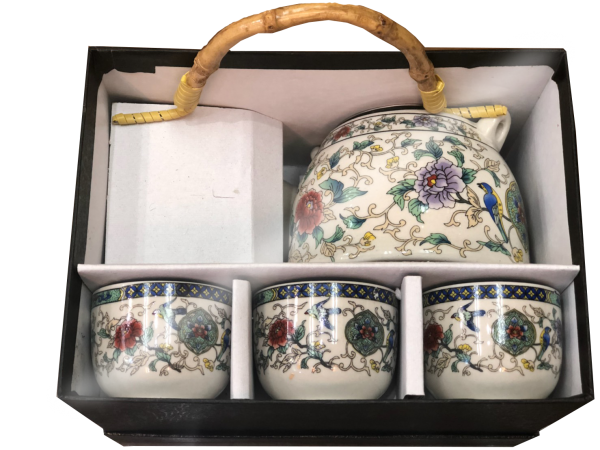 ชุดน้ำชาเซรามิคจากประเทศจีน
