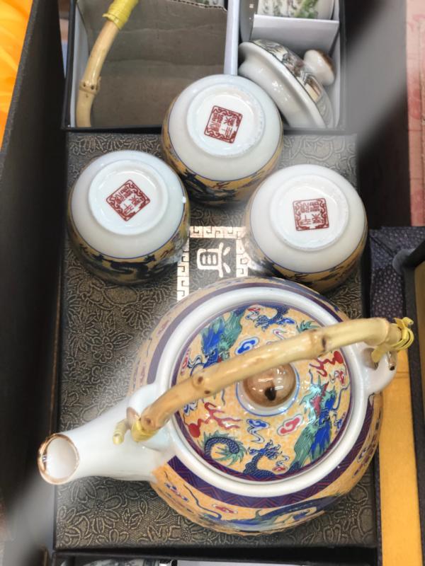 ชุดน้ำชาเซรามิคจากประเทศจีน 20
