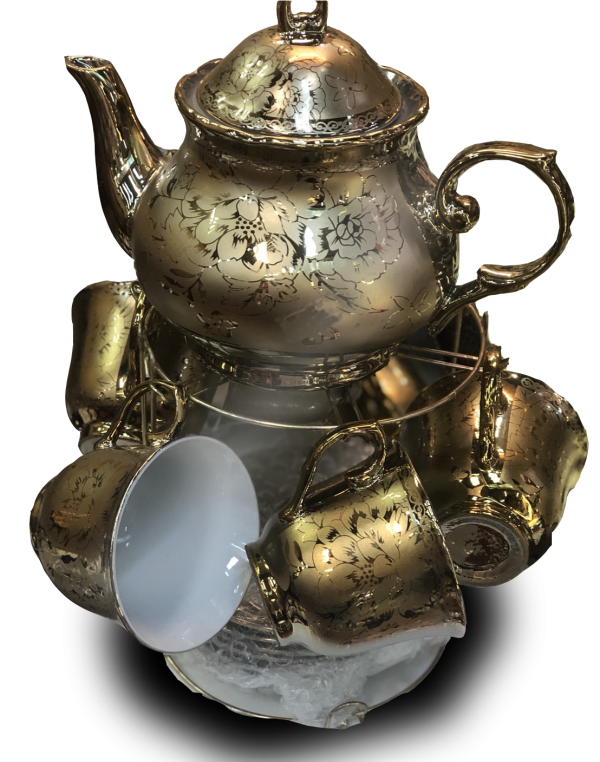 ชุดน้ำชาเซรามิคจากประเทศจีน 21