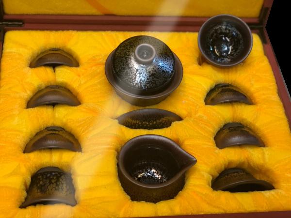 ชุดน้ำชาเซรามิคจากประเทศจีน 6