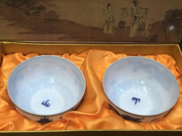ชุดน้ำชาเซรามิคจากประเทศจีน 8
